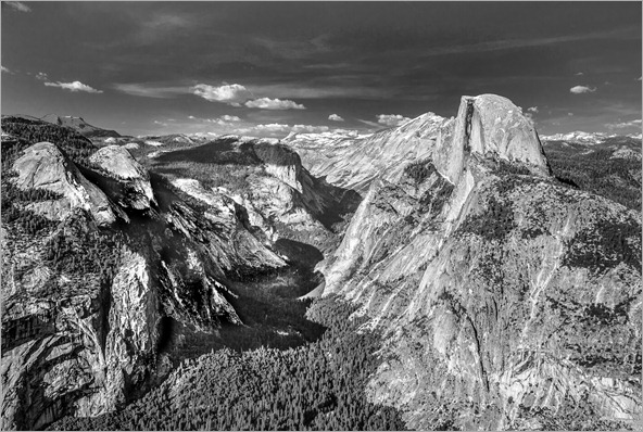 0001 - Half Dome From Glacier Point-