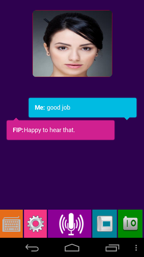 FIP (Assistant SIRI) - screenshot