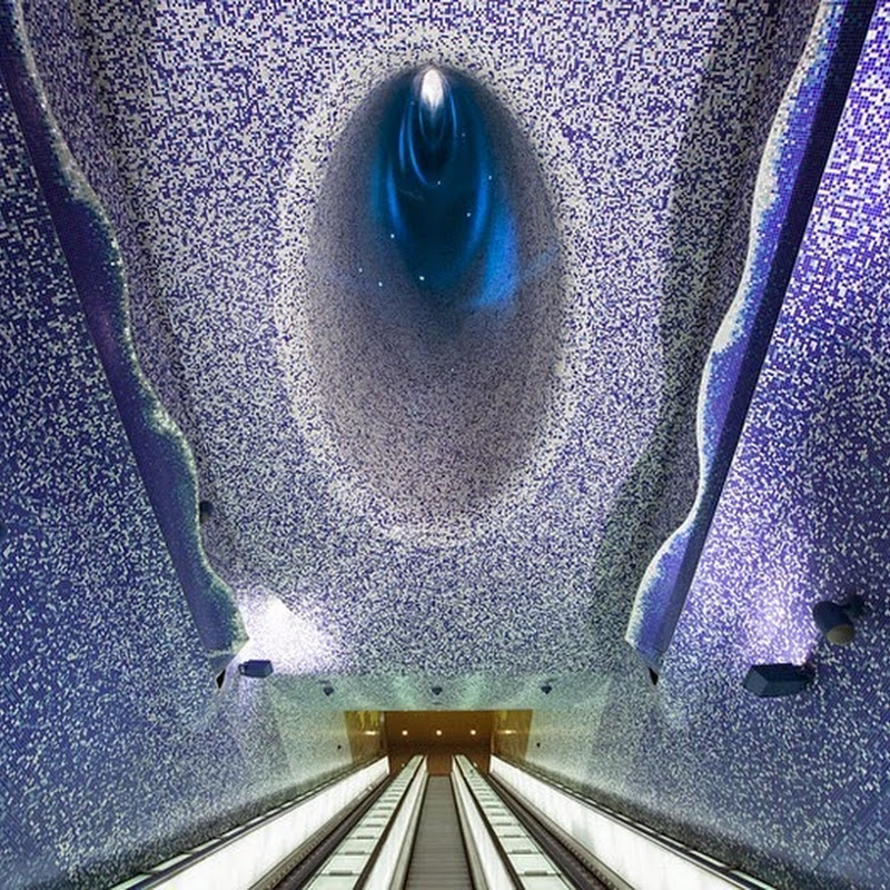 Metro Stations in Naples Converted Into Beautiful Art Galleries