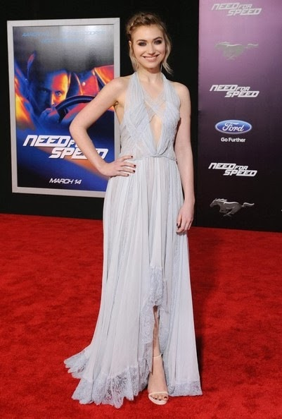 Imogen Poots Need Speed Premieres Hollywood