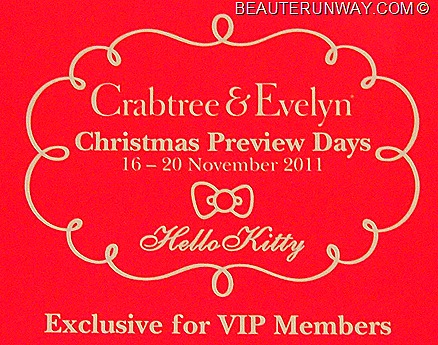 Crabtree & Evelyn X Hello Kitty Christmas Preview
