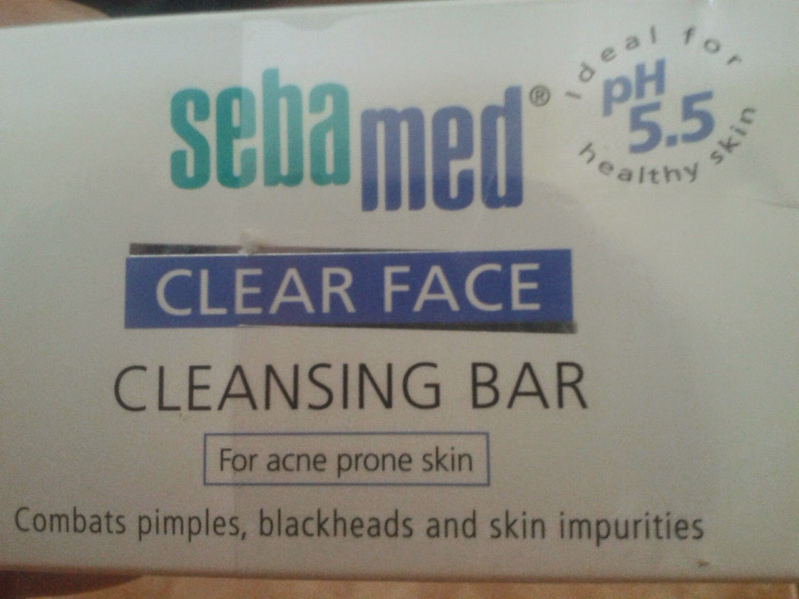 review sebamed clear face cleansing bar