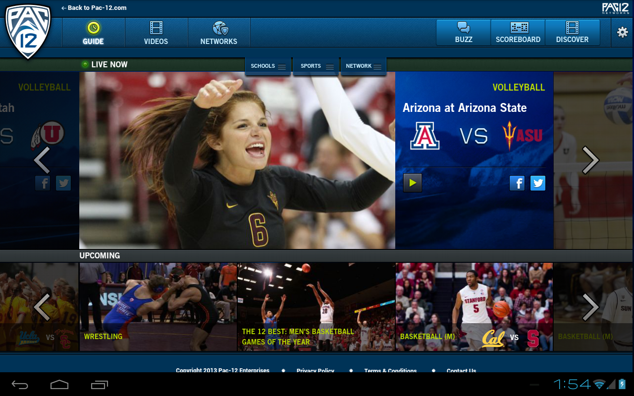 Pac-12 Now - screenshot
