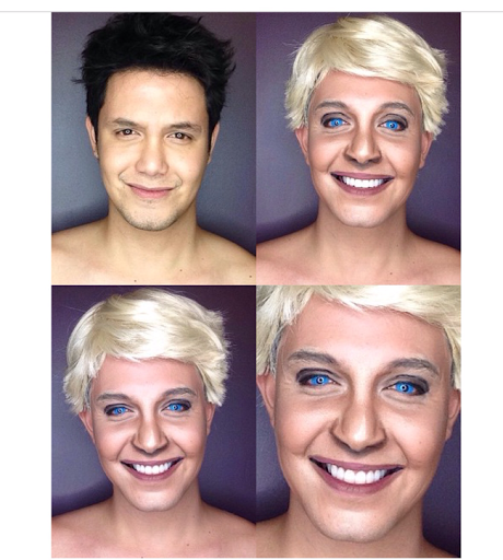 PHOTOS: Dad Transforms Himself Into Celebrities Using Makeup And Wigs 24