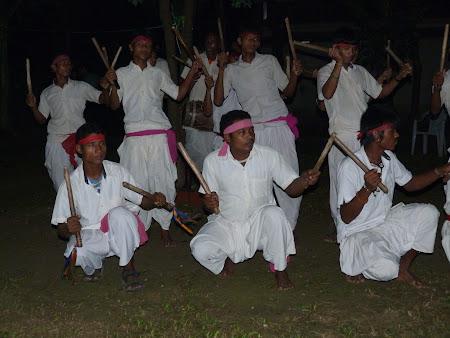 Dansatori tharu