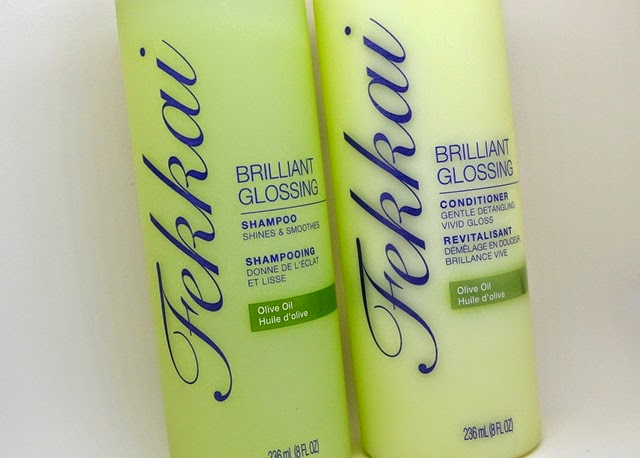 fekkai brilliant glossing shampoo conditioner