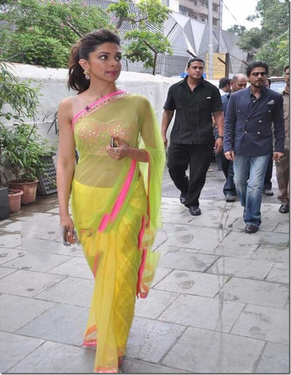 Deepika padukone in chennai express movie promo - Hotty Planet