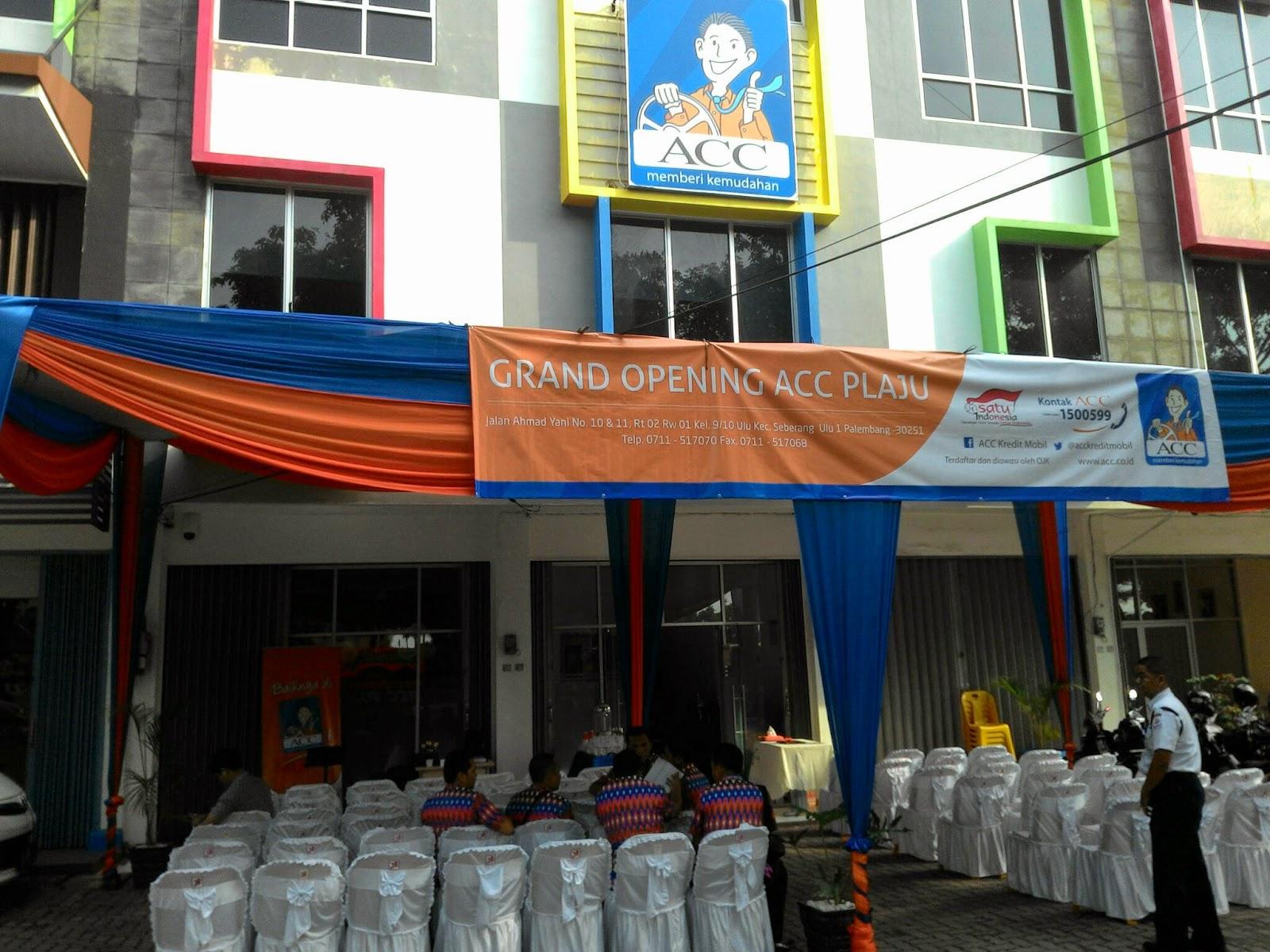 Rieza Harry Setiawan Grand Opening Acc Plaju Palembang