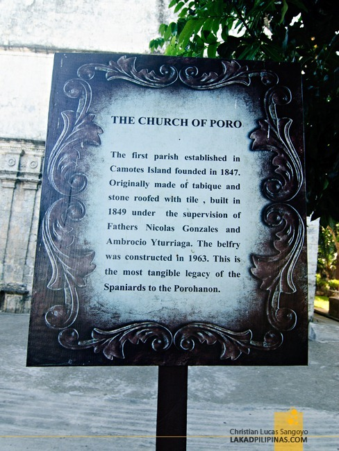No NHI Marker on Poro Church