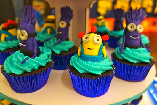 Despicable Me Birthday Sheet Cake