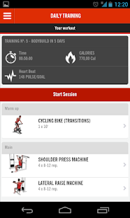 Trainingym screenshot