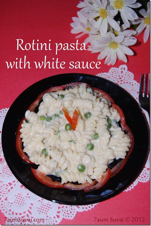 Rotini Pasta With White Sauce 7aum Suvai