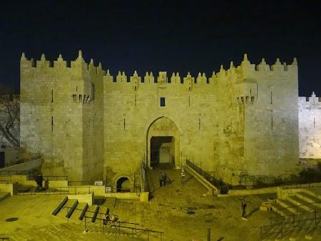 Obiective turistice Ierusalim: Poarta Damascului