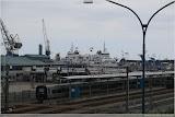 Scandlines-Fähre im Hafen