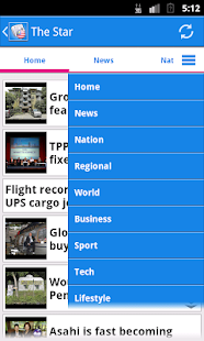 Malaysia News- screenshot thumbnail