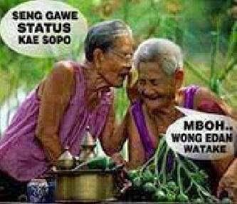 83+ Gambar Lucu Wong Edan Terlihat Keren