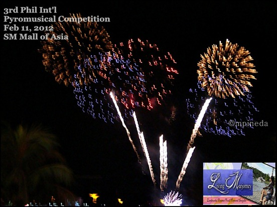 3rd Phil Int'l Pyromusical Competition