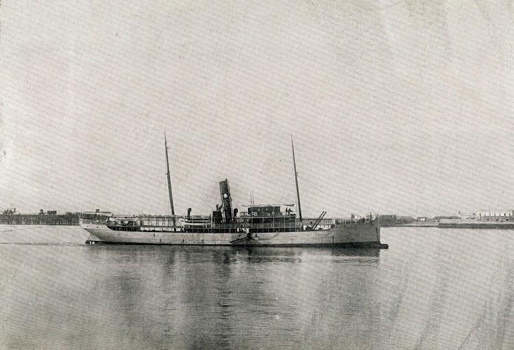Vapor J. BUSTAMANTE. Revista Vida Marítima. Año 1.904.JPG