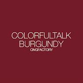 ColorfulTalk - Burgundy 카카오톡테마