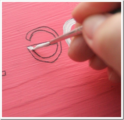 how to paint a custom sign
