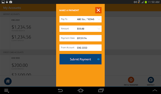 SunTrust Tablet App - screenshot thumbnail