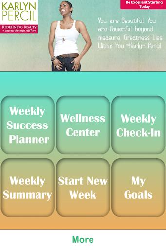 Weekly Success Planner App
