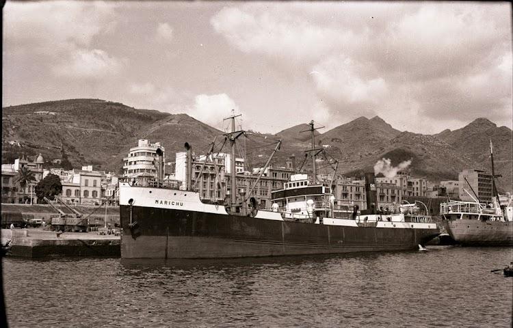 Vapor MARICHU en Santa Cruz de Tenerife. Fecha indeterminada. Colección Juan Padrón Albornoz. Universidad de la Laguna.jpg