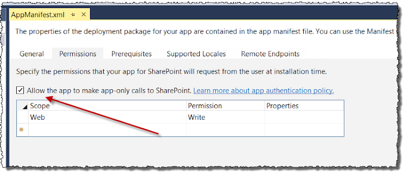 Allow app-only auth