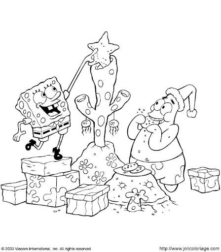 la navidad de bob esponja y patricio