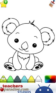 google coloring pages baby animals - photo#11