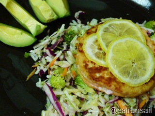 Jan 8 salmon and avocado dinner 002