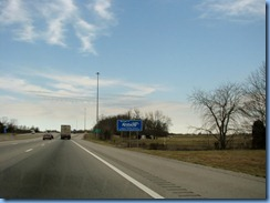 7450 Kentucky - I-65 North - Kentucky Welcome sign and blue skies