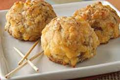 Sausage & Cheese balls