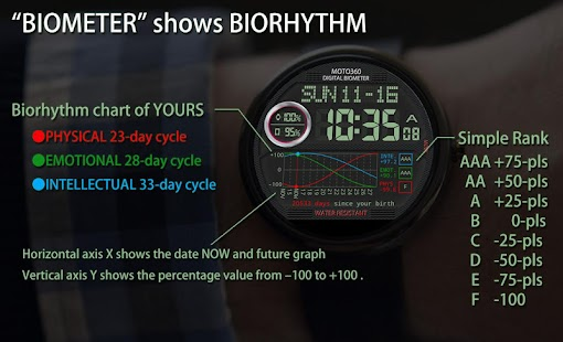 V01 WatchFace for Moto 360- screenshot thumbnail