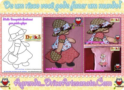patchwork-moldes-Sunbonnet-Sue-em-patch-aplique