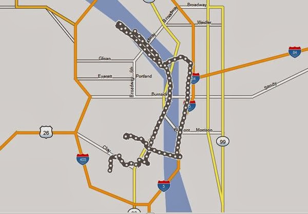 Portland Jogging Route.JPG