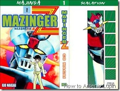 P00002 - Mazinger Z Manga #1