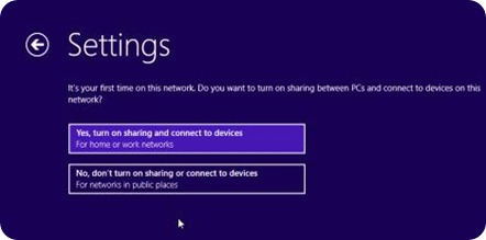 turn on File sharing option if your PC connected to internet