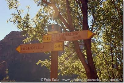 7642 El Aserrador-Paso Herradura(Entrada al camino)