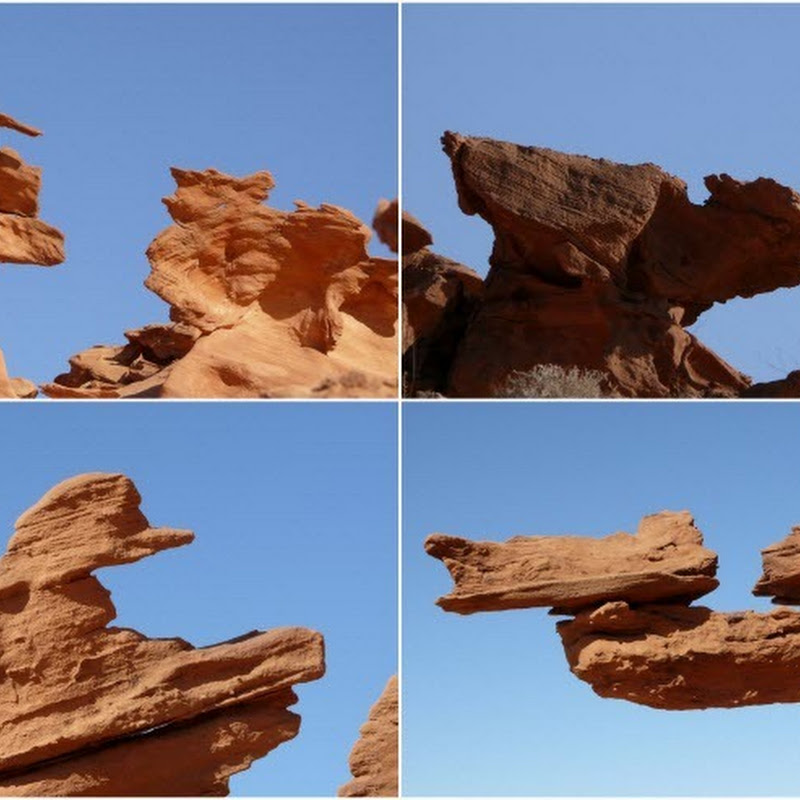 Whimsical Rock Formations at Little Finland, Nevada