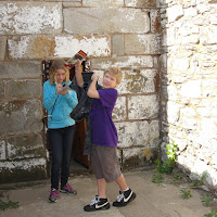 The Exercise Yard at Eastern State Penitentiary