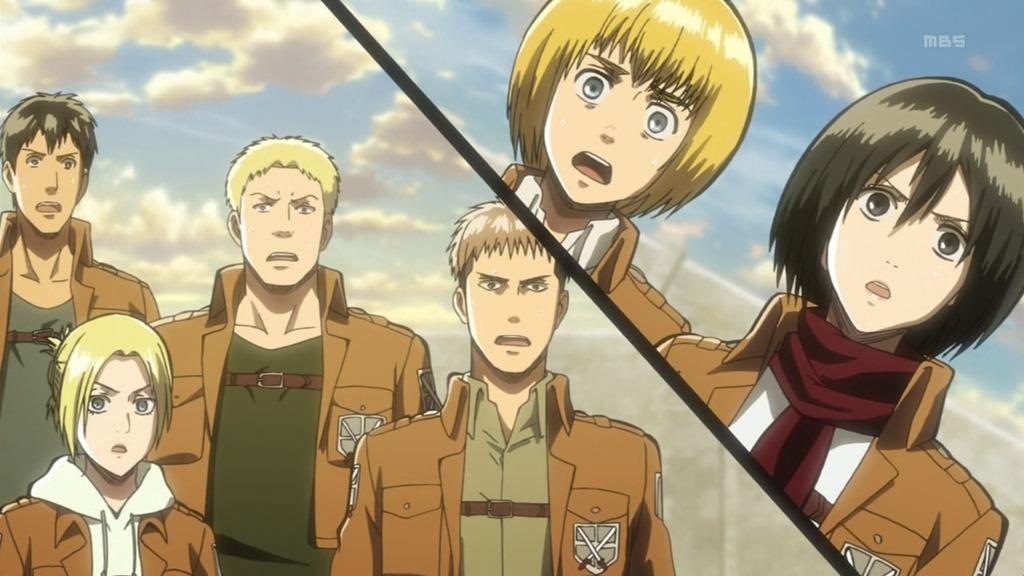 Attack on titan season 2 episode 8 kissanime