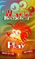 Screenshot of Wacky Hedgehog jump