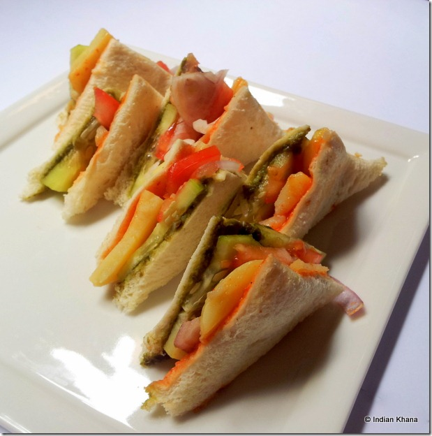 Sandwich Recipe Veggie Sandwich Recipe