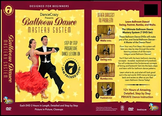 Louis Let's Dance - Ballroom dancing dvd review