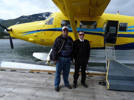 Poza obisnuita cu pilotul