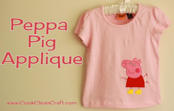 Peppa Pig Applique (2)