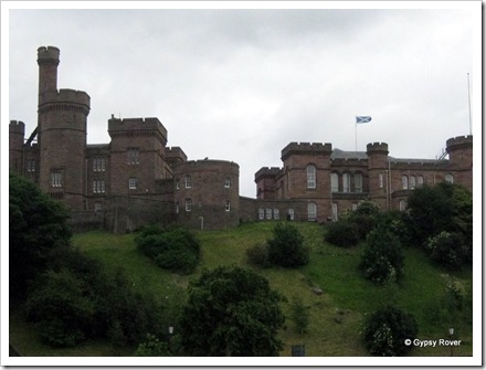 Inverness Castle.
