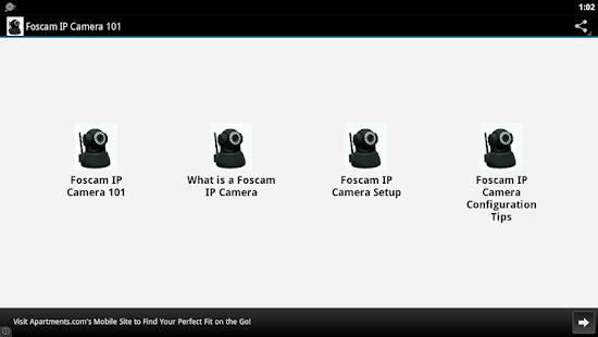 Foscam IP Camera 101 - screenshot thumbnail