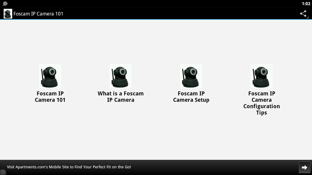 Foscam IP Camera 101 - screenshot
